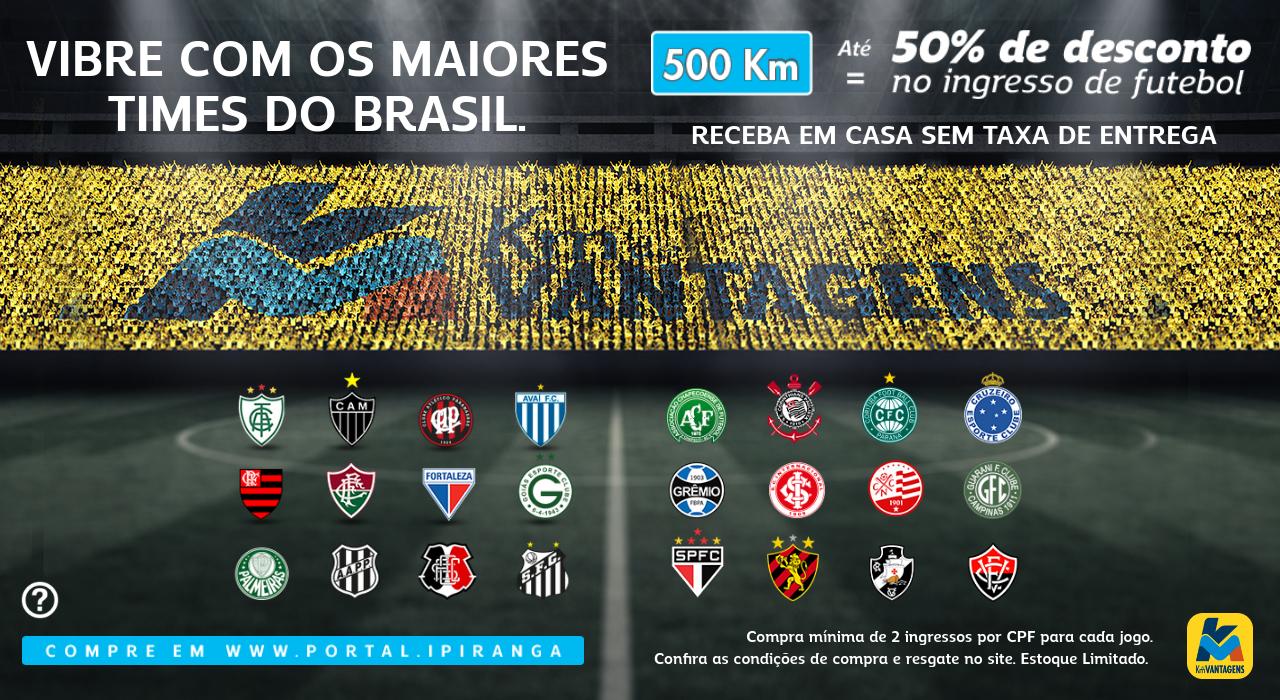 e8c2fa4d7e06c Até 50% de desconto em ingressos do Brasileirão - Km de Vantagens Abril 2018